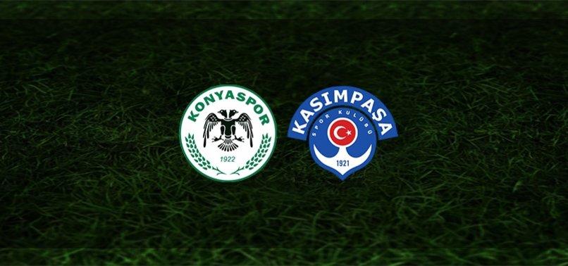 Konyaspor - Kasımpaşa maçı ne zaman, saat kaçta, hangi kanalda?   Süper Lig