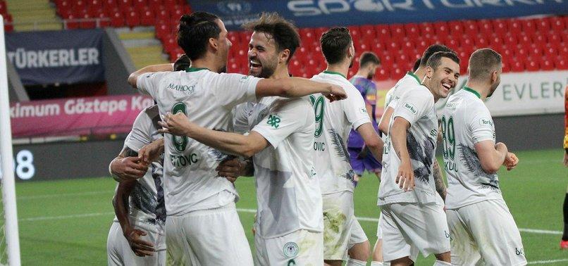 Göztepe 0-1 Konyaspor (MAÇ SONUCU - ÖZET)