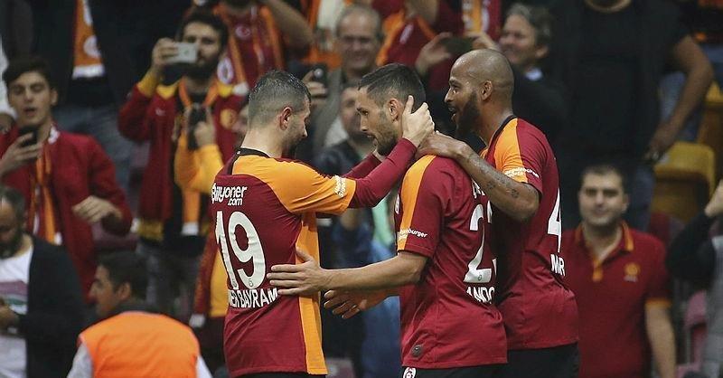 İşte Galatasaray-Sivasspor maçından kareler!