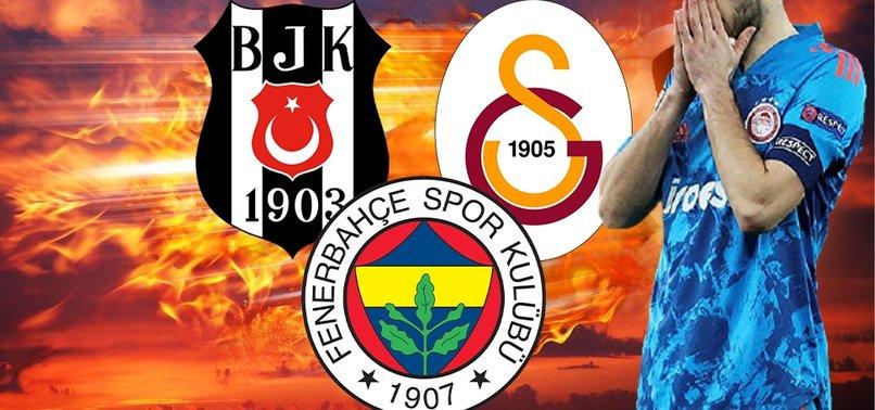 Son dakika transfer haberi: Fenerbahçe Beşiktaş ve Galatasaray o yıldız için yarışta!
