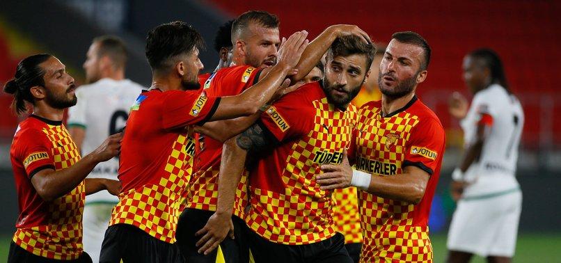Göztepe'de 4 isim Fenerbahçe maçında yok!