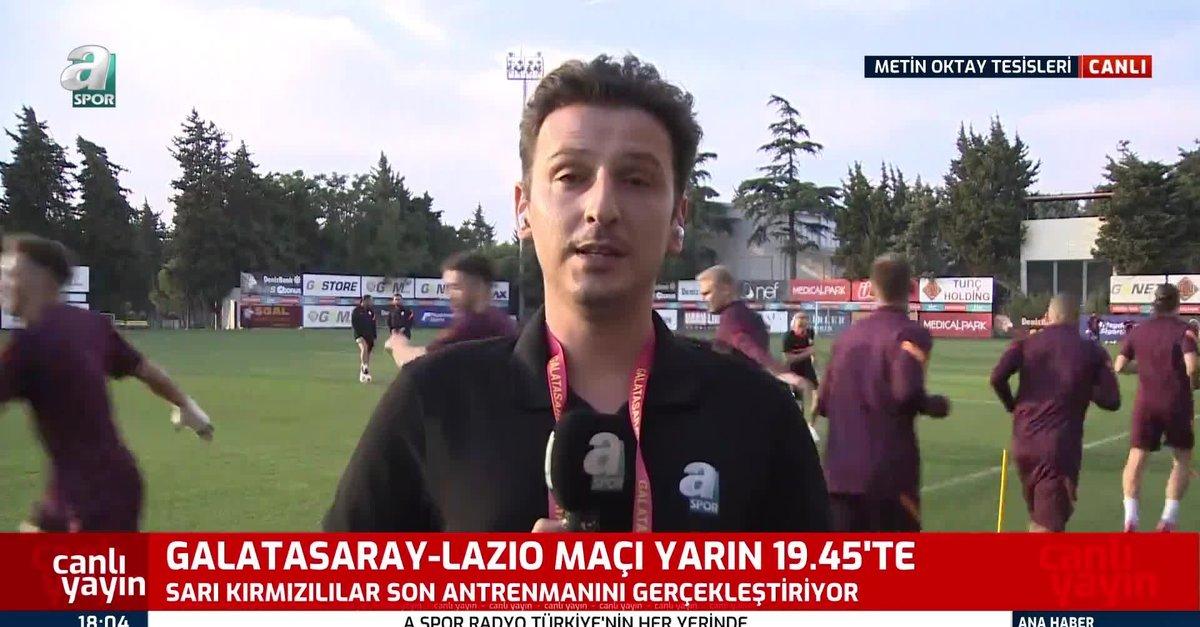G.Saray Lazio maçı hazırlıklarını tamamladı