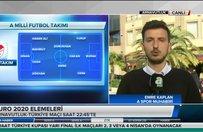 Milliler Arnavutluk deplasmanında