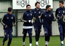 F.Bahçede Trabzonspor mesaisi başladı