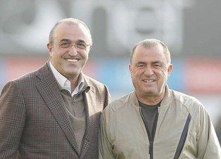 Galatasaraylı futbolcular Fatih Terim ve Abdurrahim Albayrak'a kayıtsız kalmadı!