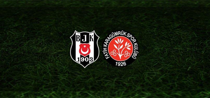 Kritik viraj! Beşiktaş - Fatih Karagümrük maçı ne zaman? Saat kaçta? Hangi kanalda? | Süper Lig (Bjk maçı)