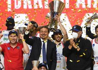 THY EuroLeague şampiyonu Anadolu Efes!
