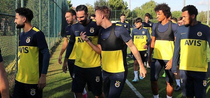 Fenerbahçe'de Alanyaspor maçı hazırlıkları