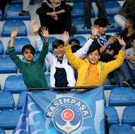 Kasımpaşa - Akhisarspor maçından kareler