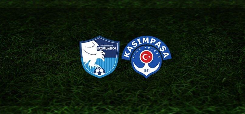 BB Erzurumspor - Kasımpaşa maçı ne zaman, saat kaçta ve hangi kanalda?   Süper Lig