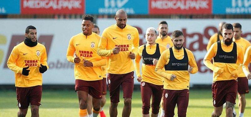 Galatasaray, PSG maçı hazırlıklarını sürdürdü