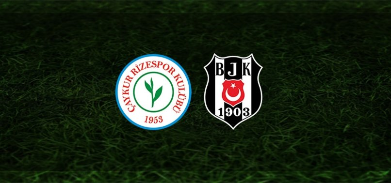 Rizespor Beşiktaş maçı CANLI ANLATIMI