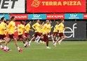 Galatasaray çalışmalarını sürdürdü
