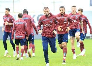 Trabzonsporda Akhisar maçı hazırlıkları (5 ekim 2018)