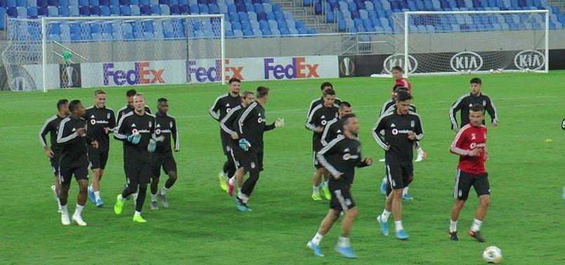 Beşiktaş'ta Bratislava maçı hazırlıkları tamamlandı