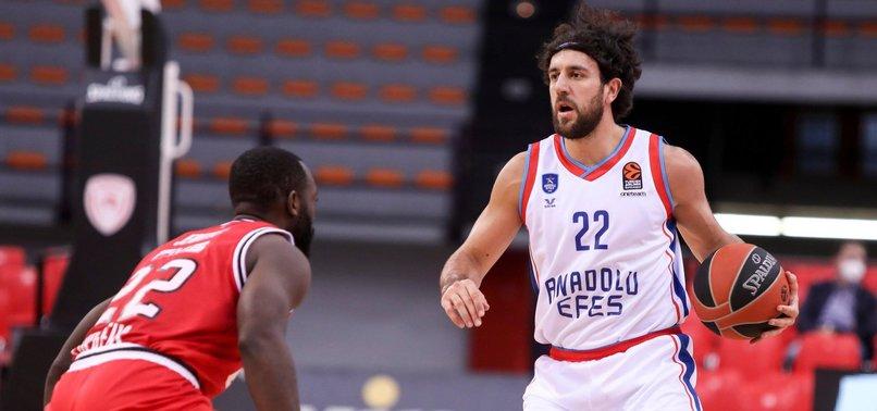 THY EuroLeague: Olympiakos 79-84 Anadolu Efes | MAÇ SONUCU | MAÇ ÖZETİ