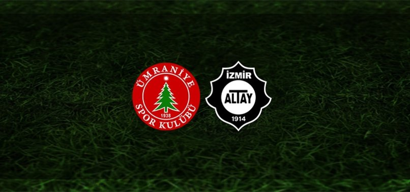 Ümraniyespor - Altay maçı ne zaman, saat kaçta ve hangi kanalda? | TFF 1. Lig