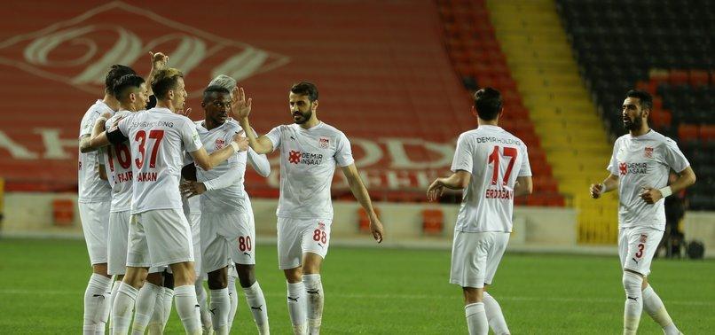 Gaziantep FK 0 - 1 Sivasspor (MAÇ SONUCU - ÖZET)