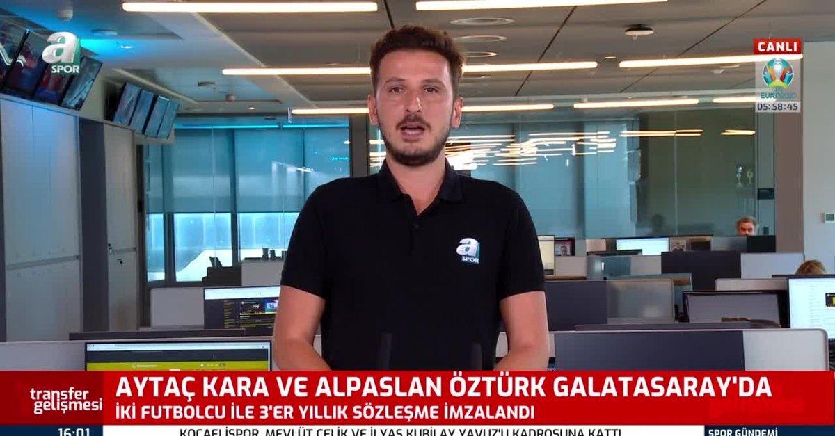 Aytaç Kara ve Alpaslan Öztürk G.Saray'da!