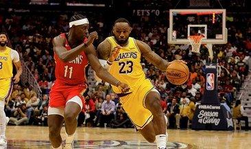 LeBron James NBA'de 33 bin sayıyı aştı