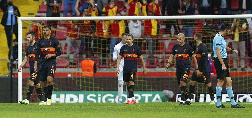Kayserispor 3-0 Galatasaray (MAÇ SONUCU-ÖZET) | Cimbom'a Kayseri'de ağır darbe!