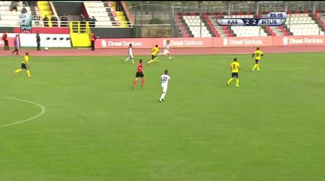 Kastamonuspor 3-2 Bitlis Özgüzelderespor