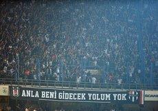 Beşiktaşlı taraftarlardan Fenerbahçeye teşekkür mesajı