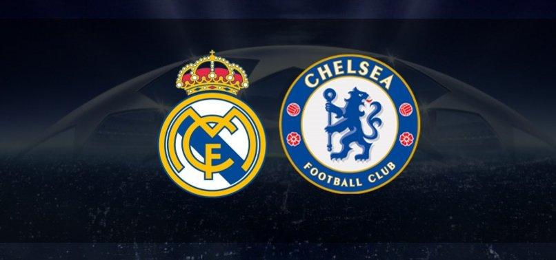 Real Madrid-Chelsea | CANLI