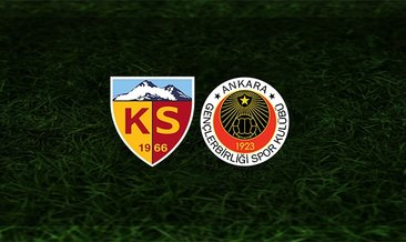 Kayserispor - Gençlerbirliği maçı saat kaçta ve hangi kanalda?
