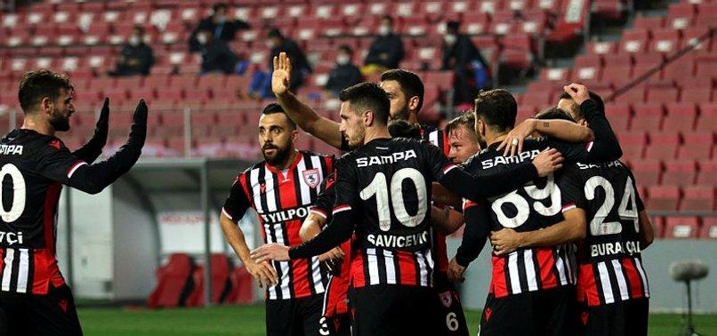 Samsunspor 2-0 Tuzlaspor MAÇ SONUCU-ÖZET