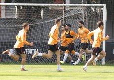 Galatasaray, Schalke maçı hazırlıklarına başladı
