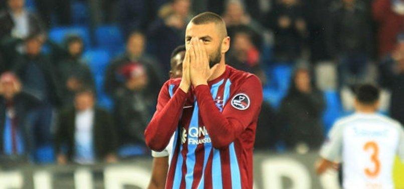 Trabzonspor Burak Yılmaz hakkında karar verdi!