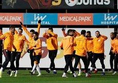Galatasaray,Medipol Başakşehirmaçına hazır