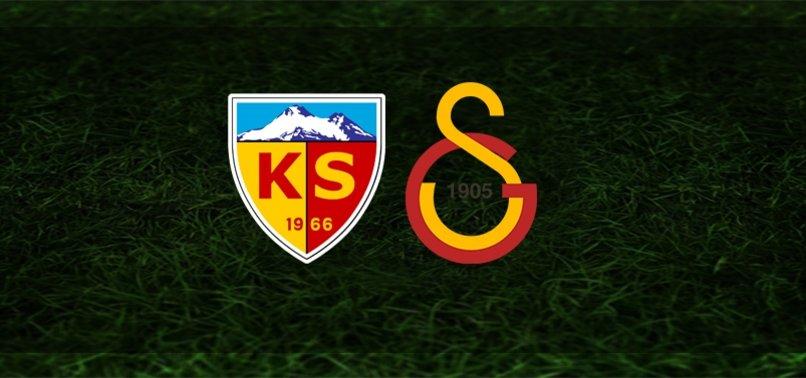 CANLI   Kayserispor – Galatasaray maçı ne zaman? Galatasaray maçı hangi kanalda? Saat kaçta? Bilet fiyatları ve muhtemel 11'ler (GS Maçı)