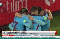 Trabzonsporda önemli eksik
