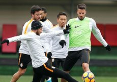 Galatasarayda Bursaspor maçı hazırlıkları