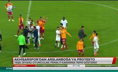 Akhisarspor'dan Suat Arslanboğa'ya protesto