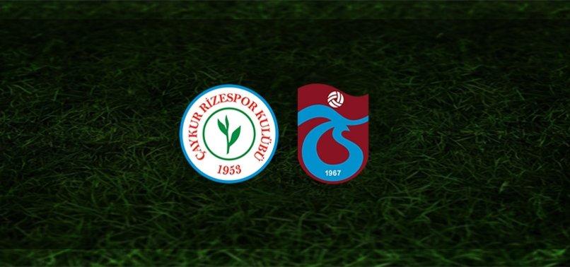 Rizespor - Trabzonspor maçı saat kaçta ve hangi kanalda?