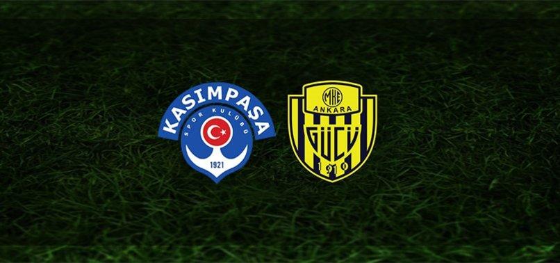 Kasımpaşa - Ankaragücü maçı ne zaman, saat kaçta ve hangi kanalda? | Süper Lig