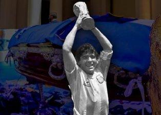 Diego Armando Maradona son yolculuğuna uğurlandı!