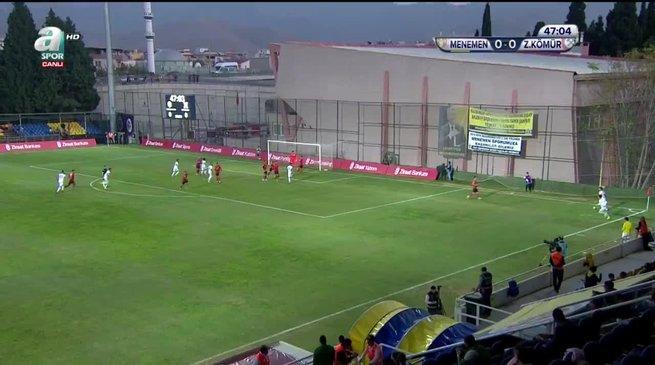 Menemen Belediyespor 1-0 Zonguldak Kömürspor
