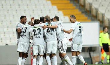 Beşiktaş zirve aşkına! Kartal ilk yarıda işi bitirdi