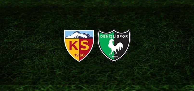 Kayserispor - Denizlispor maçı ne zaman, saat kaçta ve hangi kanalda? | Süper Lig