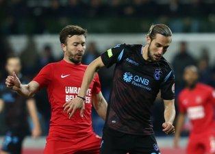 Ümraniyespor Trabzonspor maçından kareler