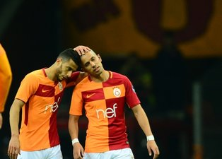 Galatasarayın kayıp yıldızları: Belhanda ve Feghouli