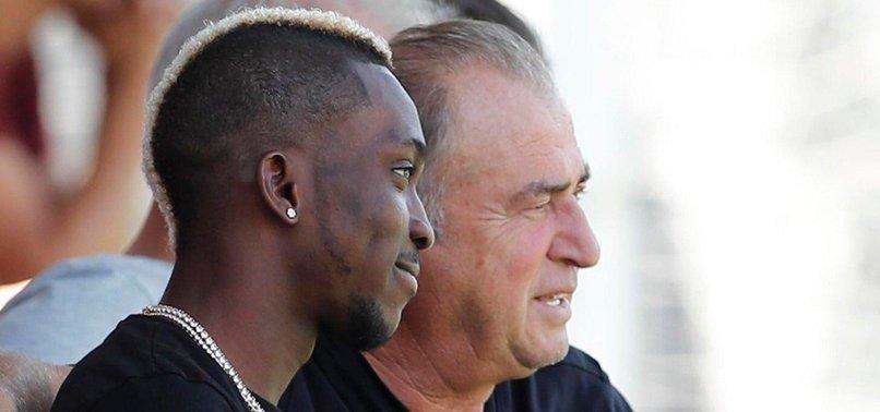 Henry Onyekuru Galatasaray antrenmanını ziyaret etti