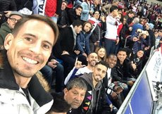 Trabzonsporlu futbolcular Copa Libertadores finalini izledi