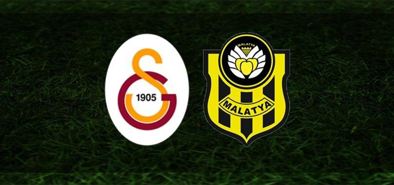 G.Saray-Yeni Malatyaspor   İlk 11'ler belli oldu