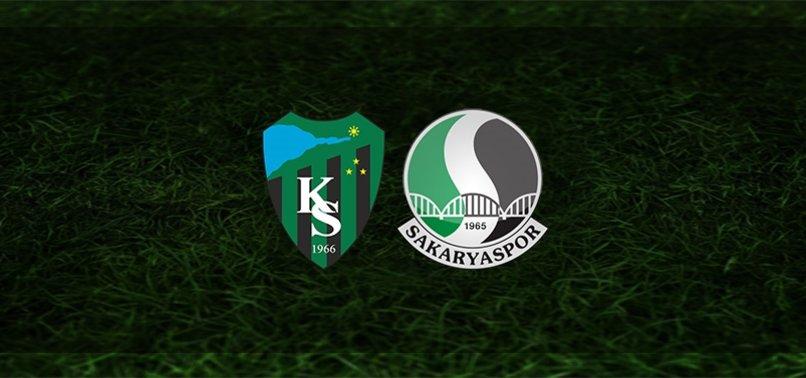 Kocaelispor - Sakaryaspor maçı ne zaman, saat kaçta ve hangi kanalda?