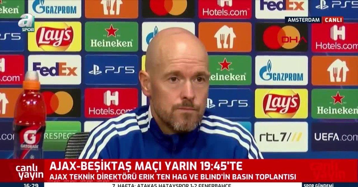 Erik ten Hag'dan Beşiktaş yorumu!